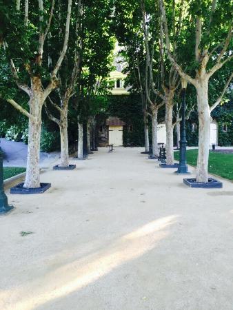 Резерфорд, Калифорния: Front walkway.