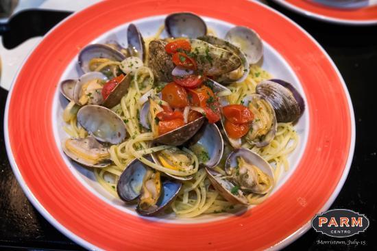 Morristown, Nueva Jersey: Amazing Lobster Spaghetti, Truffle Ravioli.