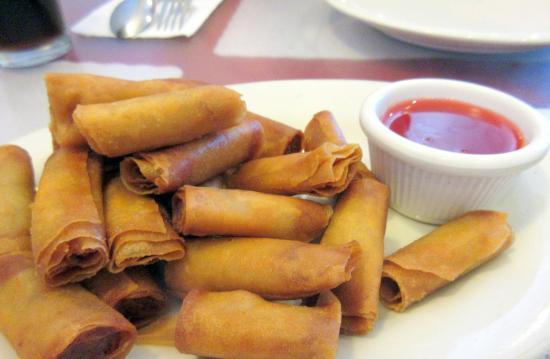 Cherry Garden Filipino And Chinese Restaurant Shanghai Lumpia Fremont