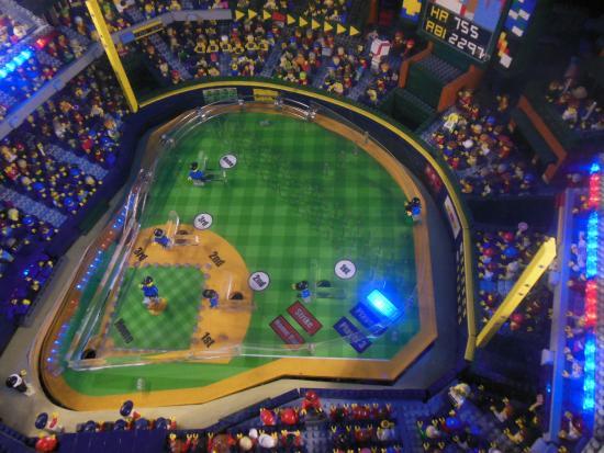 Turner field legos - Picture of LEGOLAND Discovery Center, Atlanta ...