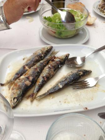 Taberna do Valentim: Muy buen pescado.