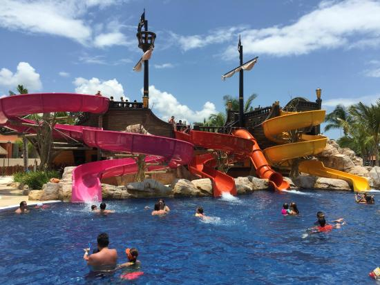 pirates cove water park picture of barcelo maya tropical puerto rh tripadvisor com