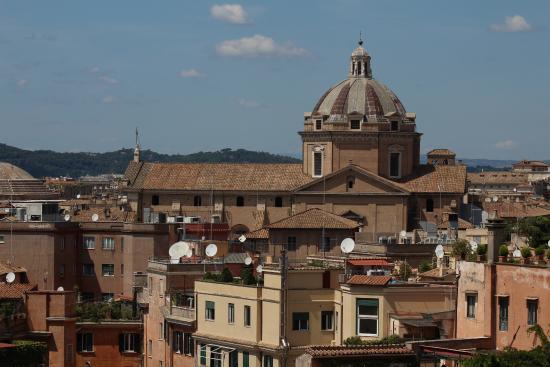 Cafe Capitoline Rome View - Picture of Terrazza Caffarelli, Rome ...