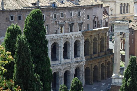 View from Cafe Capitolino - Picture of Terrazza Caffarelli, Rome ...