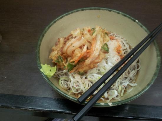 Hakone: 肉かき揚げ
