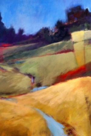 Hood River, OR: Barbara Murphy acrylic on Canvas