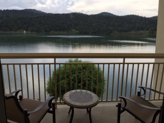 Inn of the Mountain Gods Resort & Casino: View from one of our balconies