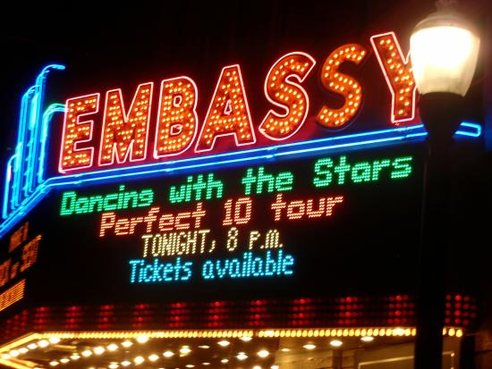 The Embassy Theatre: Grand Restored Gem