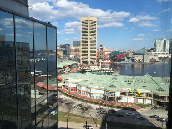 Hyatt Regency Baltimore Inner Harbor View From The Hotel
