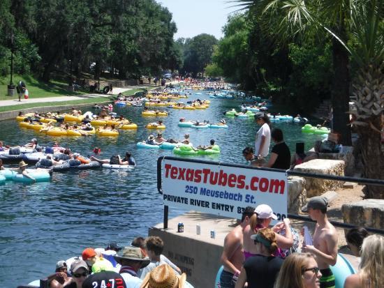 Texas Tubes: Entry Point