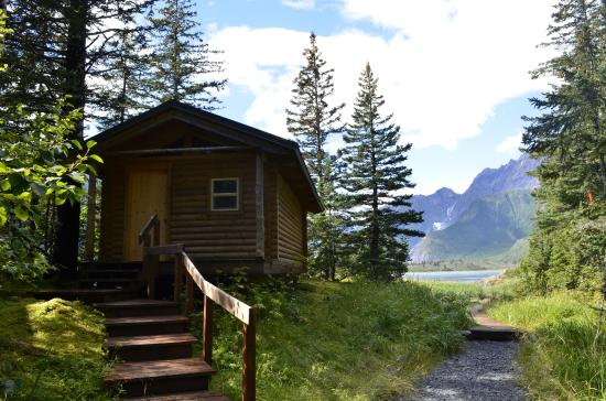 Kenai Fjords Glacier Lodge : My room on the very end, so serene and private