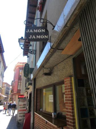 Bar jamon Jamon: Ingreso al sitio