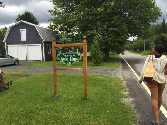 Val-Racine, كندا: Une accueil chaleureux et une auberge avec beaucoup de charme