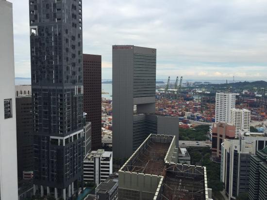 Window View - Carlton City Hotel Singapore Photo