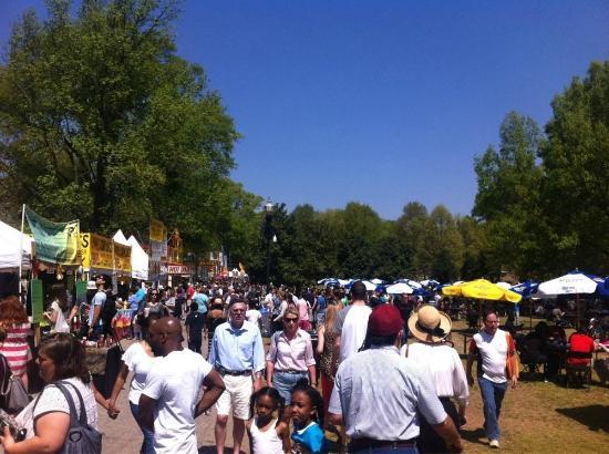 Dogwood Festival Food Vendors