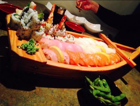 Our boat of noms picture of sapporo ichibang sudbury for Asian cuisine sudbury ontario