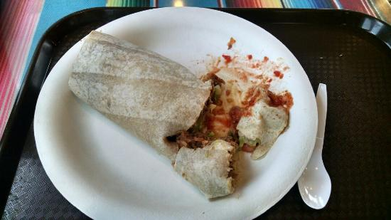 Kitchen Sink Burrito Picture Of Las Pinatas Of Maui