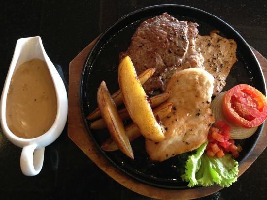 Ruen Thai, Patong: Mixed Grill Plate