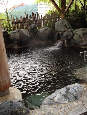 Ishiuchi Yung Parunas: 露天風呂の一部