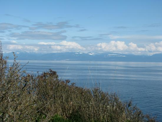 Nanaimo, Canada: View from the hilltop