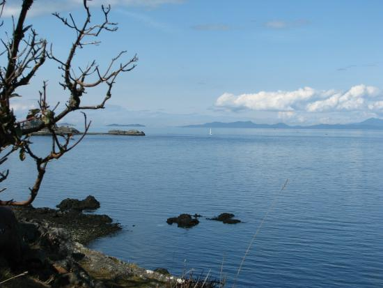 Nanaimo, Canada: View from the path
