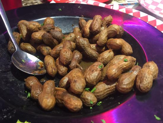 The Mojo Grill & Catering Company: Cajun boiled peanuts.  Excellent!