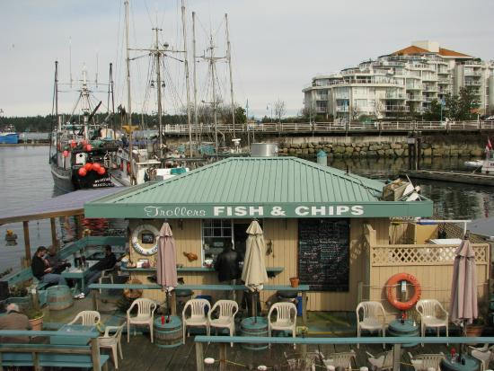 Nanaimo, Canadá: Harbourfront eatery