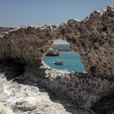 Vista dalle grotte