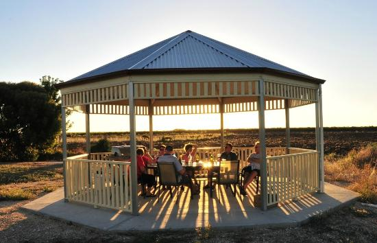 gazebo with bbq picture of barossa vineyard cottages tanunda rh tripadvisor in