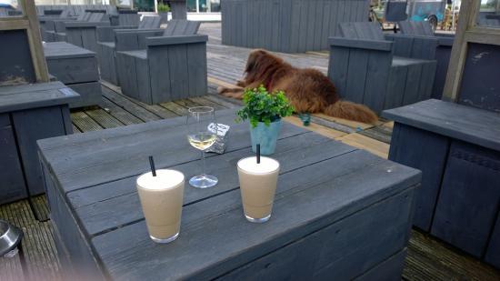 Grouw, Holandia: cool cappuccino