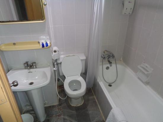 Aunchaleena Bangkok Hotel: Loads of mould/no shower head holder.