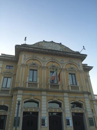 Legnago, Italia: Front view to Salieri's theater