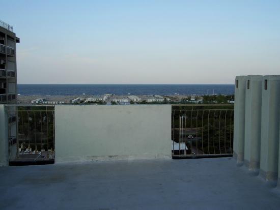 Hotel Jonni: vista dalla terrazza dell'ultimo piano