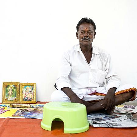 Penang Photography Walks With David Hagerman: Fortune teller, Little India, George Town
