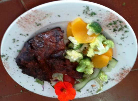 Chokka Block Restaurant : Rump and Veg