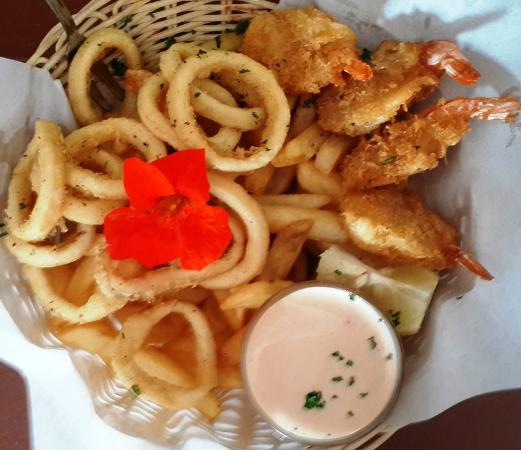 Chokka Block Restaurant : Snack Basket