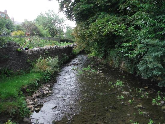 Stay at Penny's Mill: River that runs past the establisment