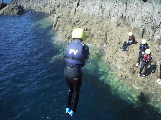 Preseli Venture: coasteering