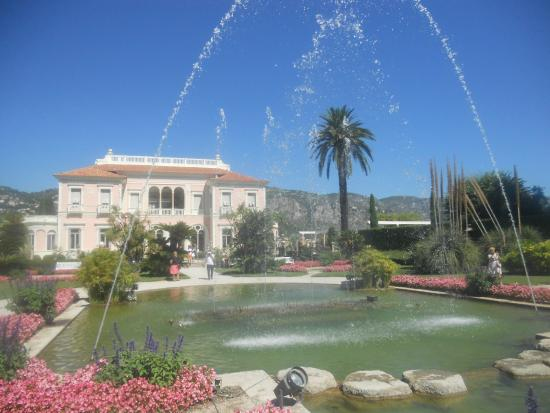 Chambre de la baronne picture of villa jardins for Villa jardins ephrussi de rothschild