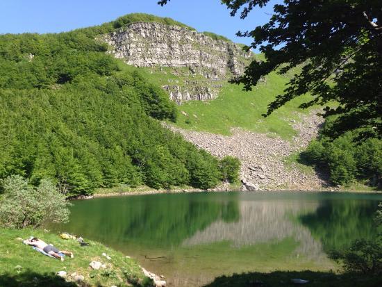Monchio delle Corti, Italië: Arrivando dal sentiero