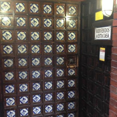 Casa Romero: Front Door