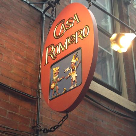 Casa Romero: Look for the Sign