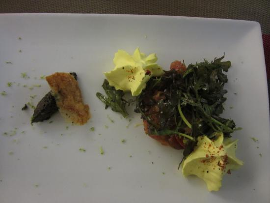 Hotel Restaurant de la Place : Tuna starter