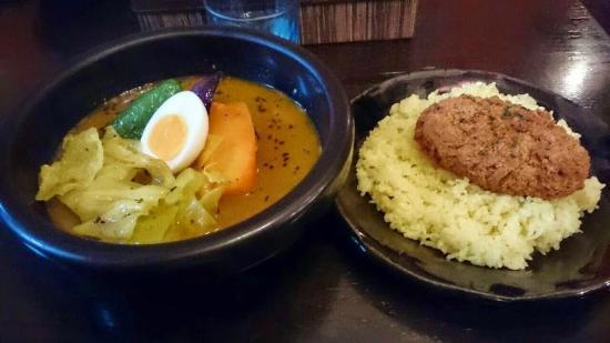Kanako's Soup Curry, Sapporo Minami1joh Shop