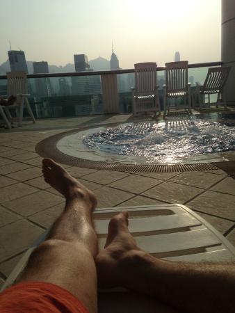 Metropark Hotel Causeway Bay Hong Kong: pool