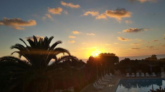 Residence Hotel Felix: tramonto
