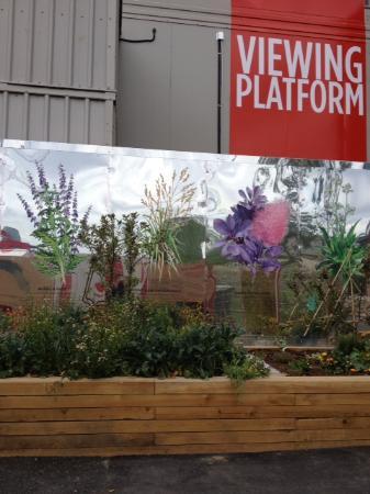 Λονδίνο, UK: One of the viewing platforms in the project