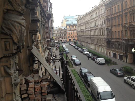 Silver Age: Апартаменты на Пушкинская 5: Вид с балкона