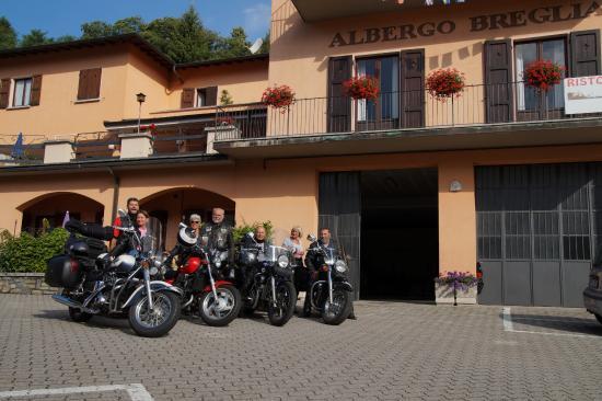 Plesio, Włochy: Unser Abschlußfoto bei der Abreise