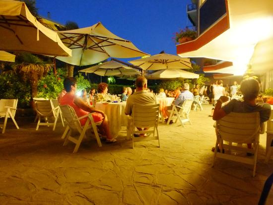 Gallia Club Hotel : Area giardino e colazioni